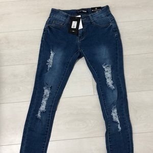 Too much booty jeans from Fashion Nova